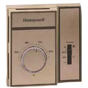 Honeywell Safety T6169B4017 Line Voltage Thermostat with Snap Action