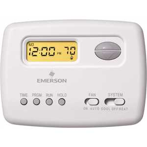 Emerson 1F78-151 70 Series 5-2 Day Single Stage Programmable Thermostat