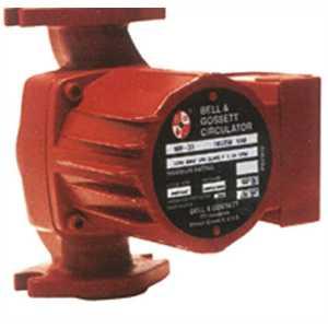 Bell & Gossett 55-6252 LR-20WR CAST IRON BOOSTER PUMP L/FLANGES