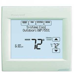 Honeywell Home TH8320R1003 VisionPRO 8000 7 Day, 3 Heat/ 2 Cool Digital Programmable Thermostat with RedLink Technology
