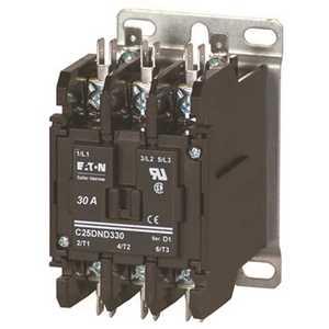 Eaton C25DNF340A Definite Purpose Contactor RBM Type 154 3 Pole 40A 120-Volt