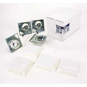 Broan-NuTone 2678F-XCP4 50 CFM Broan Exhaust Fan with Light Finish Kit - pack of 4