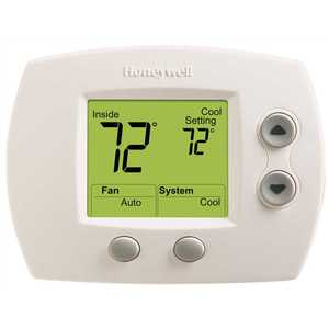 Resideo TH5110D1022/U FocusPRO 5000 Digital Non Programmable Thermostat 1 Heat/1 Cool