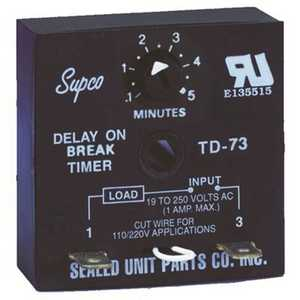 SUPCO TD73 Time Delay on Break
