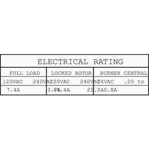 Honeywell Home L8148J1009 Boiler Aquastat Switching Relay