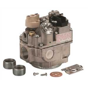 Robertshaw 700-406 24-Volt 3/4 in. Inlet 3/4 in. Outlet Uni-Kit Combination Gas Valve