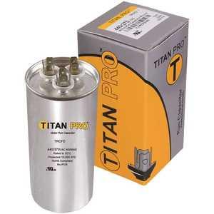 Packard TOCF7.5 Titan Pro Run Capacitor 7.5 MFD 440/370-Volt Oval