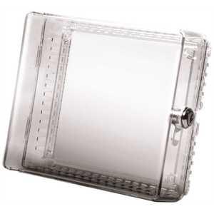 TAYMAC ZTC100 Small, Clear Low Profile Plastic Thermostat Guard