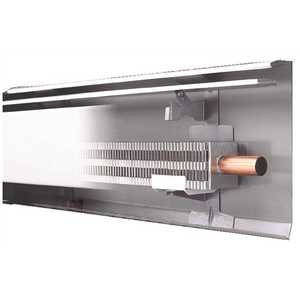 Slant/Fin 101-401-4 Fine/Line 30 4 ft. Hydronic Baseboard with Fully Assembled Element and Enclosure in Nu White