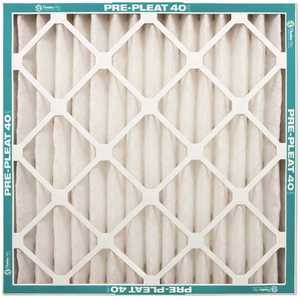 Flanders PrecisionAire 80055.012436 24 in. x 36 in. x 1 Prepleat 40-LPD Standard Capacity MERV 8-Air Filter