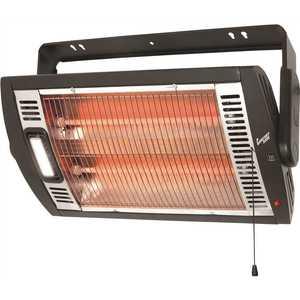 Comfort Zone CZQTV5M 1,500-Watt Electric Infrared Ceiling Mount Quartz Portable Heater