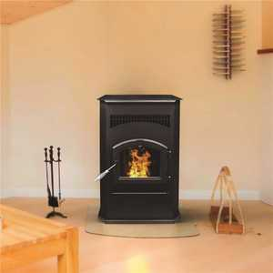 Pleasant Hearth PH50CABPS 2,200 sq. ft. Pellet Stove with 120 lbs. Hopper and Auto Ignition