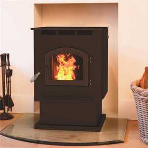Pleasant Hearth PH50PS 2,200 sq. ft. Pellet Stove with 80 lbs. Hopper and Auto Ignition