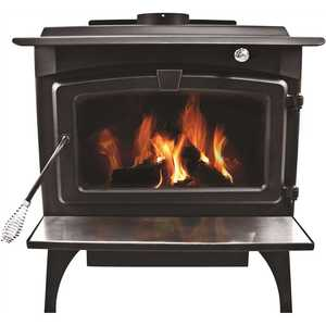 Pleasant Hearth LWS-127201 1,800 sq. ft. EPA Certified Wood-Burning Stove with Medium Blower