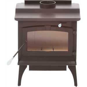 Pleasant Hearth LWS-130291 2,200 sq. ft. EPA Certified Wood-Burning Stove with Blower, Large