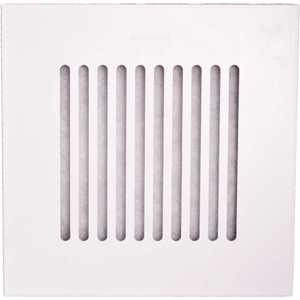 Elima-Draft ELMDFT9AF3327 9 in. x 9 in. Allergen Relief Register/Vent Cover for HVAC Aluminum Registers/Vents