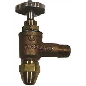 BECKETT 12230P Firomatic 3/8 in. Brass Angle Valve