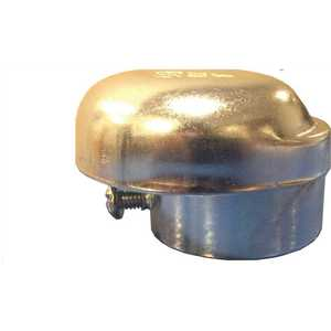 BECKETT 14037 1-1/4 in. Zinc Plated Steel Slip-On Vent Cap