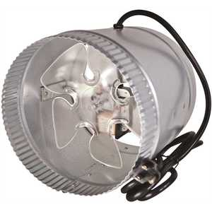Suncourt DB208C Inductor 8 in. Corded In-Line Duct Fan