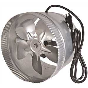 Suncourt DB210C Inductor 10 in. Corded In-Line Duct Fan