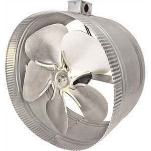 Inductor DB414E 14 in. 4-Pole In-Line Duct Fan with Electrical Box
