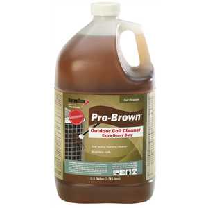 Diversitech PRO-BROWN 1 Gal. Pro-Brown Non-Acid Foaming Concentrate Outdoor Condenser Coil Cleaner