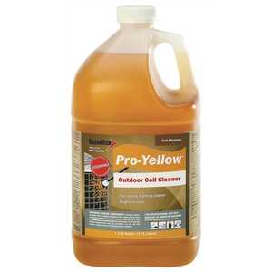 Diversitech PRO-YELLOW 1 Gal. Pro-Yellow Non-Acid Foaming Outdoor Condenser Coil Cleaner