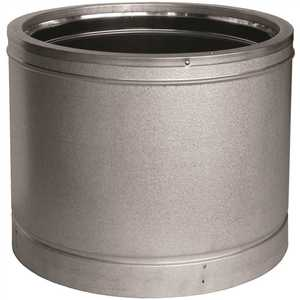 M&G DURAVENT 12DT-36SS DURATECH CHIMNEY PIPE, 12 IN. INNER DIAMTER, 36 IN. LONG