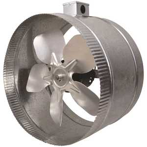 Inductor DB412E 12 in. 4-Pole In-Line Duct Fan with Electrical Box
