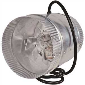 Inductor DB200C 6 in. Corded In-Line Duct Fan Double Crimped