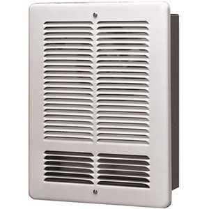 King Electric W2415-W 240-Volt 1500-Watt Wall Heater Electric Heater in White