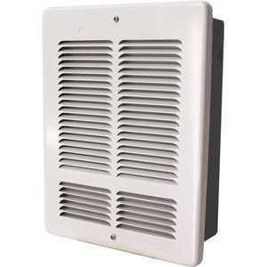 King Electric W2412-W W 1200-Watt/600-Watt 4094 BTU Electric Wall Heater 240-Volt White