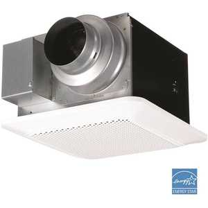 Panasonic FV-0811RQ1 WhisperChoice Pick-A-Flow 80/110 CFM Ceiling Bathroom Exhaust Fan with Flex-Z Fast Bracket