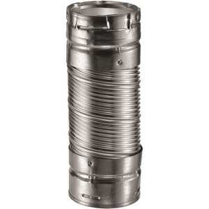 DuraVent 4DV36DW 4 in. x 36 in. Double-Wall Flex Connector for Chimney Pipe