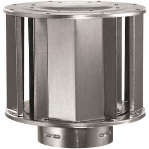 DuraVent 3GVVTH 3 in. High Type B Vent Wind Cap for Chimney Pipe