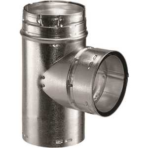 DuraVent 4GVT 4 in. Type B Gas Vent Tee for Chimney Pipe
