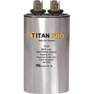 TITAN TOCF30 Run Capacitor 30 MFD 440/370-Volt Oval