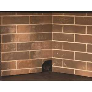 Pleasant Hearth ZRP320 Firebrick Panel Set for 32 in. Zero Clearance Ventless Dual Fuel Fireplace Insert