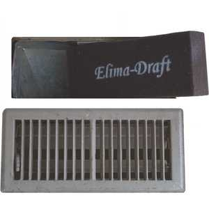 Elima-Draft ELMDFT104FL4031 10 in. x 4 in. x 2 in. Floor Ducts Residential and Commercial HVAC Insulated Floor Insert