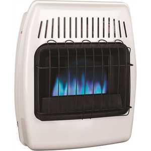 Dyna-Glo BF10NMDG-4 10,000 BTU Blue Flame Vent Free Natural Gas Wall Heater