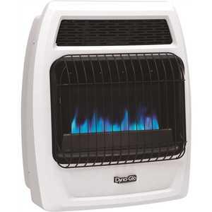 Dyna-Glo BFSS20LPT-4P 20,000 BTU Blue Flame Vent Free Liquid Propane Thermostatic Wall Heater