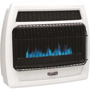 Dyna-Glo BFSS30NGT-4N 30,000 BTU Blue Flame Vent Free Natural Gas Thermostatic Wall Heater