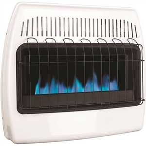 Dyna-Glo BF30NMDG-4 30,000 BTU Vent Free Natural Gas Blue Flame Wall Heater