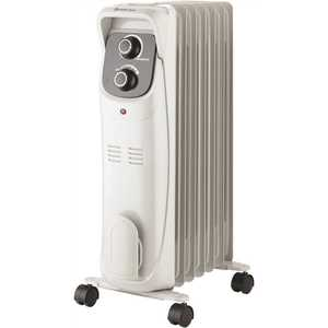 Comfort Zone CZ8008 1,500-Watt White Electric Oil-Filled Radiator Space Heater with Silent Operation