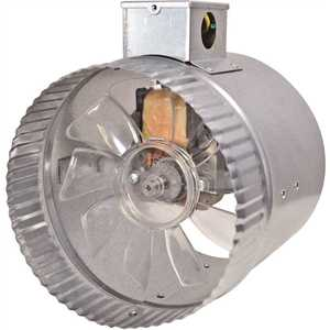 Inductor DB306E 6 in. 2-Speed In-Line Duct Fan