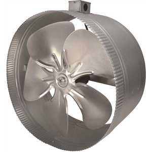 Inductor DB416E 16 in. 4-Pole In-Line Duct Fan with Electrical Box