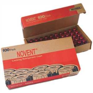 RectorSeal 86684 Novent Pink R410 1/4 in. Thread Refrigerant Cap