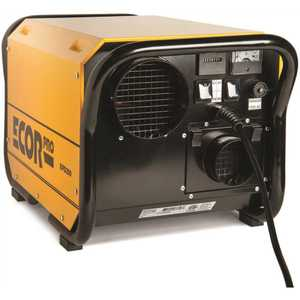 Ecor Pro EPD200 200 Pint Portable Industrial Desiccant Dehumidifier for Basement, Crawl Space, Whole House and Warehouses - Yellow