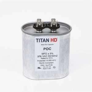 TITAN HD POCF40A 40 MFD 440/370-Volt Oval Run Capacitor