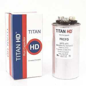 TITAN HD PRCFD3575A 35+7.5 MFD 440/370-Volt Round Run Capacitor